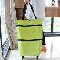 Túi đi chợ thông minh, gấp gọn, có bánh xe kéo thumbnail