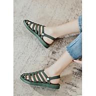 Dép sục sandal nữ chiến binh nhựa dẻo, phù hợp du lịch đi biển, thời trang trẻ, phong cách Hàn Quốc thumbnail