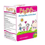 Thực phẩm bảo vệ sức khỏe cốm BigBB Plus (tặng kèm mũ trùm đầu chống thấm nước khi tắm) thumbnail
