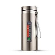 Bình giữ nhiệt 12h inox 304 1000ml BIDAMOP -giao màu ngẫu nhiên thumbnail
