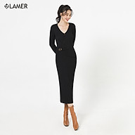 Đầm ôm khoen đai LAMER L63F20T004 thumbnail
