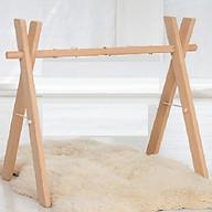Kệ chữ A bằng gỗ treo đồ chơi cho bé thumbnail