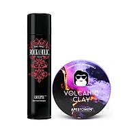 Combo Sáp Vuốt Tóc Apestomen Volcanic Clay + Tigi Bedhead Rockaholic Spray thumbnail