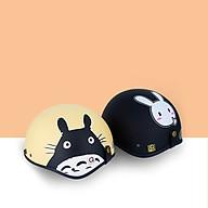 Mũ Bảo Hiểm Nửa Đầu Lồng Ép Nhiệt Cao Cấp - Có Nhiều Tem Để Lựa Chọn thumbnail