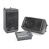 Bộ loa di động Samson XP1000 - tích hợp mixer, tăng âm, 2 loa - Hàng chính hãng thumbnail
