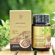 Chiết xuất Đông Trùng Hạ Thảo Tây Tạng, Sản xuất tại Mỹ - Teresa Herbs Tibetan Cordyceps Sinensis 60 Capsules Nutritional Supplement (60 viên 500mg) thumbnail