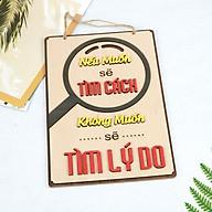 Bảng Gỗ Khẩu Hiệu Trang Trí Văn Phòng, Slogan Tạo Động Lực Làm Việc Nhiều Mẫu Độc Đáo Mẫu 1- 16 SLOGAN thumbnail