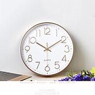 Đồng hồ treo tường kim trôi phong cách hiện đại thumbnail