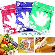 Túi 100 găng tay nilon an toàn thực phẩm thumbnail