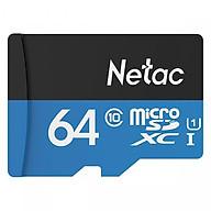 Thẻ nhớ Micro SD Chính Hãng Netac 64Gb Class10 - thumbnail