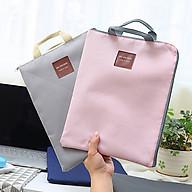 Túi Vải Đựng Tập Giấy A4 Chất Lượng, Kích Thước Vừa 38 X 28 Cm, Chất Liệu Da PU Chống Thấm Nước (Giao Màu Ngẫu Nhiên) thumbnail