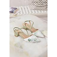 Giày sandal gót thấp Merly 1047HI thumbnail