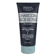 Advanced Clinicals Bamboo Charcoal Scrub (148 ml) thumbnail