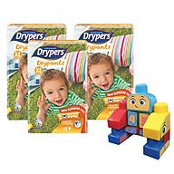 Combo 3 Tã Quần Drypers Drypantz XL42 (42 Miếng) + Tặng Bộ ghép hình Fisher Price thumbnail