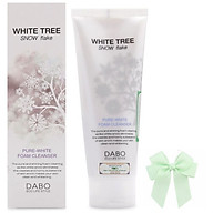 Sữa rửa mặt trắng da từ tinh thể tuyết trắng White Free DABO hàn quốc (150ml) và nơ thumbnail