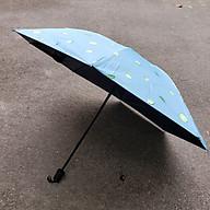 Ô dù xếp gọn che nắng che mưa họa tiết đáng yêu 8 xương thumbnail
