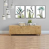 [ Tranh nghệ thuật ] Bộ 3 tranh canvas treo tường trang trí phòng khách,phòng ăn, phòng ngủ TT-384 thumbnail