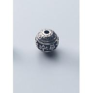 Charn bạc hình cầu họa tiết xỏ ngang - Ngọc Quý Gemstones thumbnail