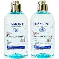 Combo 2 Nước Tẩy Trang Sạch Sâu Micellar Water Deep Cleansing Lamont En Provence (250ml x 2 Chai) thumbnail
