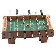 Bàn Bi Lắc mini 6 tay cầm, dài 50cm nặng 1.8kg chống trượt Trò chơi bàn đá banh bàn Foosball Table + Tặng Bóng bi lắc 36mm dự phòng cho Bạn thoải mái ghi bàn - Giao màu ngẫu nhiên thumbnail