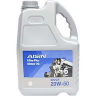 Nhớt Động Cơ AISIN ESSN2056P 20W-50 SN CF Semi Synthetic 6L thumbnail