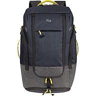 Balo Solo Velocity Max Backpack 17.3 - ACV732 M Black 0211662 (52.5 x 32.5 cm) - Đen thumbnail