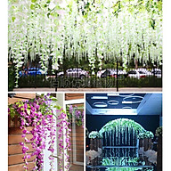 Hoa giả, hoa dây rũ trang trí (giá bán theo nhánh) thumbnail