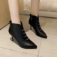 Giày da nữ cao cấp Giày mềm đế chắc dáng sang chảnh NP1512 thumbnail