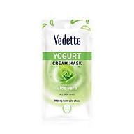 Mặt nạ sữa chua nha đam Vedette Yogurt Mask Aloe 10ml thumbnail