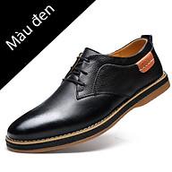 Giày lười da thật nam phong cách Hàn Quốc đẹp cá tính mạnh mẽ - Mã 22977 thumbnail