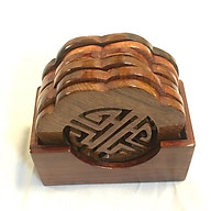 Bộ lót LY CHỮ PHÚC gỗ hương thumbnail