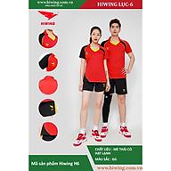 Bộ quần áo Bóng Chuyền cao cấp thương hiệu Hiwing H6 màu đỏ thumbnail