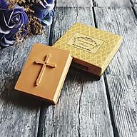 Đá thơm khuếch tán oải hương hình Sách Kinh Thánh thumbnail