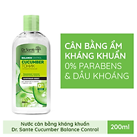 Nước cân bằng Dr.Sante Cucumber Balance Control kháng khuẩn dành cho da hỗn hợp 200ml thumbnail