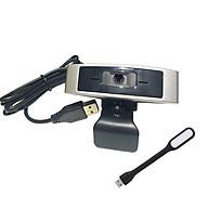 Webcam Dùng Cho Máy Tính, Laptop CM330G Kèm Đèn LED USB thumbnail