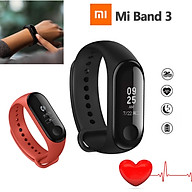 +Xiaomi Mi Band 3 OLED Smart Wristband Bracelet bluetooth Touch Screen Black thumbnail