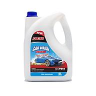 Nước rửa xe bọt tuyết đậm đặc Car Wash Foam FOCAR 4L - dưỡng bóng bảo vệ màu sơn, tỷ lệ pha 1 70 siêu tiết kiệm, hệ chất dưỡng bóng vỏ sơn Polymer kép, PH trung tính thumbnail