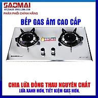 Bếp gas âm mặt Inox 430 SANKAtech 791IN - Bếp ga cao cấp 3 vòng lửa, có pep hâm - Hàng chính hãng cao cấp thumbnail