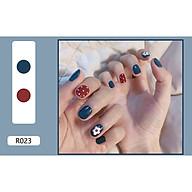 Bộ 24 móng tay giả nail thơi trang (như hình-R-023) thumbnail