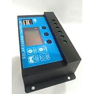 Bộ Điều Khiển Sạc Pin Mặt Trời 12 24V 30A Có USB thumbnail