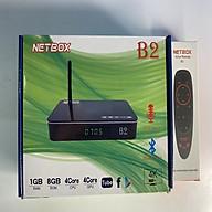 Android Tivi Box NETBOX B2 Ram 1Gb Rom 8Gb 4K UltraHD TẶNG KÈM ĐIỀU KHIỂN GIỌNG NÓI VÀ BAY NETBOX B2 - Hàng Chính Hãng thumbnail