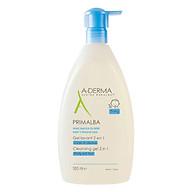 Sữa tắm gội dịu nhẹ cho tóc và cơ thể em bé A-Derma Primalba Cleansing Gel (500ml) thumbnail