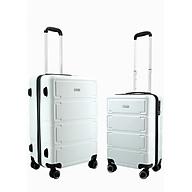 Bộ 2 vali nhựa kéo du lịch TRIP P806 size 20+24inch thumbnail