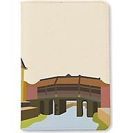 Bao da hộ chiếu - Chừa Cầu Hội An - INK-670-004-PH thumbnail