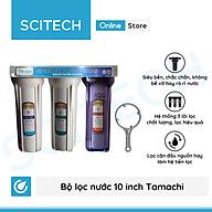 Bộ lọc nước sinh hoạt, bộ ba lọc thô 10 inch Tamachi by Scitech (3 cấp lọc) - Hàng chính hãng thumbnail