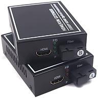 ROGTZ Bộ Converter Quang HDMI KVM Extender 1080P Kéo Dài 20KM Có Cổng USB - Hàng Chính Hãng thumbnail