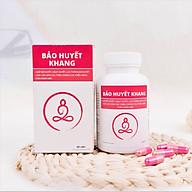 Bộ 3 hộp - Thực phẩm bảo vệ sức khỏe Bảo Huyết Khang - Giúp giảm đau đầu, say tàu xe, lưu thông khí huyết, rối loạn tiền đình, tăng cường trí nhớ thumbnail
