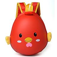 Balo trứng hình gà con cho bé mẫu giáo ( màu đỏ) thumbnail