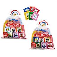 Combo 2 gói Gia vị rắc cơm cho bé (6 vị 30 gói) - nội địa Nhật Bản thumbnail