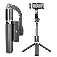 Gậy tự sướng chống rung L08 kiểu gimbal tripod dùng cho điện thoại, selfie chụp ảnh bằng remote Bluetooth 4.0 - Hàng chính hãng thumbnail